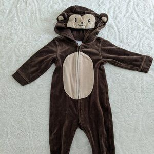 Gymboree Monkey Footed Sleeper - 18-24 mo